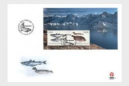 Groenland / Greenland - Postfris / MNH - FDC Sheet Vissen 2019 - Groenland
