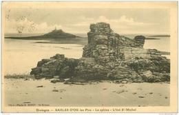 22 SABLES D'OR Les Pins. Le Sphinx Sur L'Îlot Saint-Michel 1926 - France