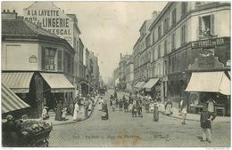 WW PARIS XV. Charcuterie Du Centre Et Policier Rue Du Théâtre 1908 - Arrondissement: 15