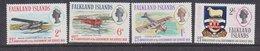 Falkland Islands 1969 Government Air Service 4v ** Mnh (41757) - Falklandeilanden