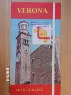 SHELL TOURING - VERONA - 1961 - Wegenkaarten