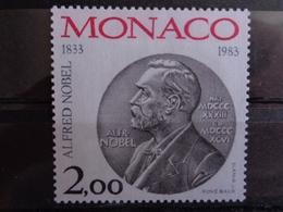 MONACO 1983 Y&T N° 1401 ** - 150e ANNIV. NAISSANCE ALFRED NOBEL - Monaco