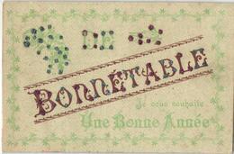 1 Cpa Bonnétable Je Vous Souhaite Une Bonne Année - Bonnetable