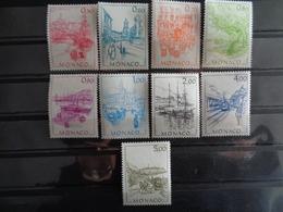 MONACO 1986 Y&T N° 1510 à 1518 ** - MONACO D'AUTREFOIS - Neufs