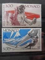 MONACO 1987 Y&T N° 1579 & 1580 ** - 2e JEUX DES PETITS ETATS D'EUROPE - Neufs
