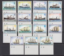 Falkland Islands 1978 Definitives / Ships 15v (+margin) ** Mnh (41757A) - Falklandeilanden