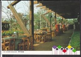 Seoul Restaurant ...stempel Taipei 1985 - Korea (Süd)