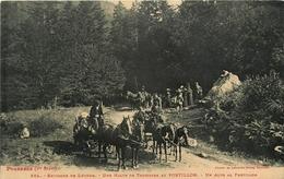 Environs De Luchon * Une Halte De Touristes Au Portillon - Autres Communes