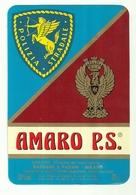 """2329 """" AMARO P.S. - SASSANO E PAGANI-MILANO-ITALIA """" ETICHETTA ORIGINALE - Etichette"""
