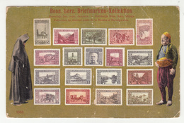 K.u.k. Bosnia, Stamps On Postcard - Verlag Pacher & Kisic, Mostar Travelled 1918 Mostar Pmk B190120 - Bosnië En Herzegovina