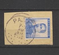 COB 120 Oblitéré PANNE Sans Bandelette - 1912 Pellens