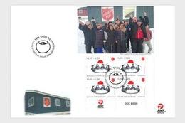 Groenland / Greenland - Postfris / MNH - FDC Sheet Leger Des Heils 2019 - Groenland