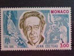MONACO 1989 Y&T N° 1679 ** - CENTENAIRE DE LA NAISSANCE  DE JEAN COCTEAU - Neufs