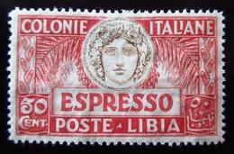 1921 Libye Colonie Italiane. LIBIA - Yt E4 . Expres . Neuf Trace Charnière - Libye