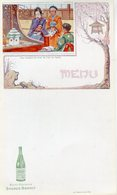 MENUS(SAINT GALMIER) SOURCE BADOIT(FETE JAPONAISE) - Menus