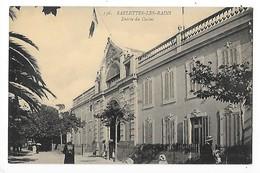 SABLETTES Les BAINS  (cpa 83)  Entrée Du Casino    -  L 1 - France