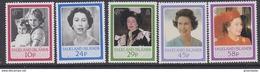 Falkland Islands 1986 Birthday Queen Elizabeth 5v ** Mnh (41760) - Falklandeilanden