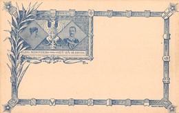 "2333 "" ELENA PETROVITCH * VITT. EM. DI SAVOIA - XXIV - X - 1896 "" CART. POST. ORIG. NON SPEDITA - Case Reali"