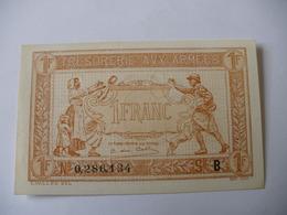 1 F TRESORERIE AUX ARMEES TYPE 1917 SERIE B NEUF - Treasury