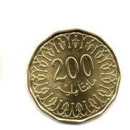 2013 -  200 Millimes UNC - Tunisie