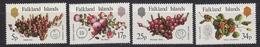 Falkland Islands 1983 Native Fruits 4v ** Mnh (41761) - Falklandeilanden