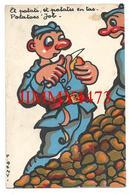 CPA - HUMOUR MILITAIRE - Et Patati, Et Patates En Tas - Potatoes ' Job - Illust. P. REMY - Edit. X. O. N° 1579 - Humor