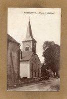 CPSM Dentelée - SOMBERNON (21) - Aspect Du Quartier De L'Eglise En 1915 - Other Municipalities