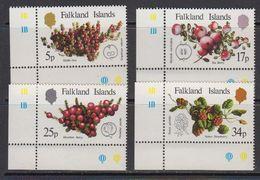 Falkland Islands 1983 Native Fruits 4v (corners) ** Mnh (41761B) - Falklandeilanden