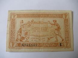 1 F TRESORERIE AUX ARMEES TYPE 1917 SERIE E - Treasury