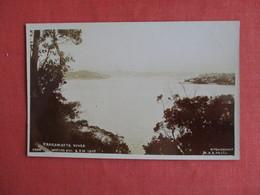 New South Wales (NSW)  RPPC Parramatta River  From Hunters Hill   Ref 3146 - Australia