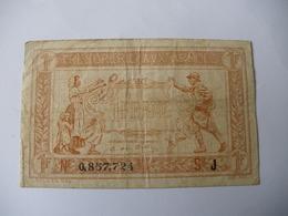 1 F TRESORERIE AUX ARMEES TYPE 1917 SERIE J - Treasury