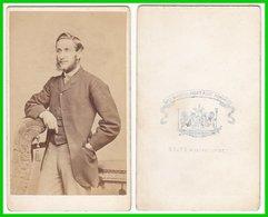 Photografie: Heath, Plymouth - Portrait, Feiner Herr Mann Homme Man Gentleman  #0275 CDV / Kab - Photographs