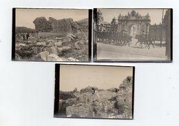 3 PHOTOS - ALBUMINE - TURQUIE - EPHESE - PALAIS IMPERIAL - Lieux