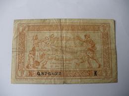 1 F TRESORERIE AUX ARMEES TYPE 1917 SERIE K - Tesoro