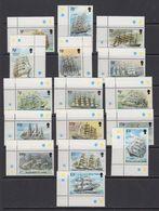 Falkland Islands 1989 Definitives / Cape Horners 16v (corners) ** Mnh (41763) - Falklandeilanden