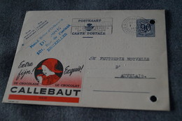 Publibel,Chocolat Callebaut 1951 ,pour Collection - Stamped Stationery