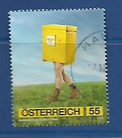 Austria  2010 Post Office Advertising Campaign  Used - 2001-10 Afgestempeld