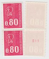 FRANCE** MARIANNE DE BEQUET.  1816c NUMERO ROUGE 420 - 1971-76 Marianne De Béquet