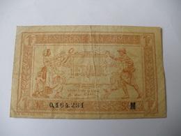 1 F TRESORERIE AUX ARMEES TYPE 1917 SERIE M - Treasury