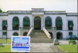 42000 Macau, Maximum  1982  Luis De Camoes Museum,  Architecture - 1999-... Chinese Admnistrative Region