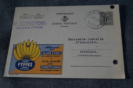 Publibel,bananes FYFFES 1956 ,pour Collection - Stamped Stationery