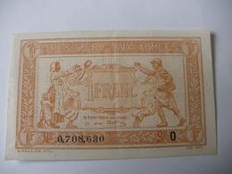 1 F TRESORERIE AUX ARMEES TYPE 1919 SERIE O - Treasury