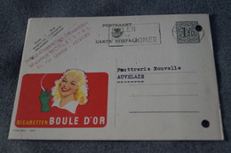 Publibel,Cigarettes Boule D'OR 1954 ,pour Collection - Stamped Stationery