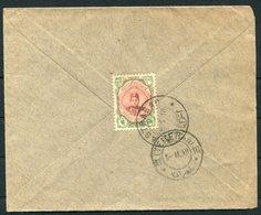 1918 Persia Ahmad Shah 6ch Cover. ASTRABAD - TEHERAN - Iran