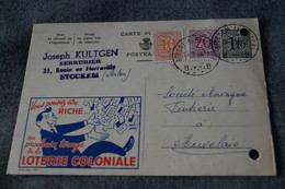 Publibel,loterie Coloniale 1958 ,pour Collection - Stamped Stationery