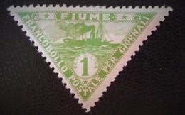 TIMBRES POUR JOURNAUX 1919 - NEUF * - YT 2 - 8. Ocupación 1ra Guerra