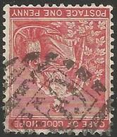 Cape Of Good Hope. BONC 659 = Plumstead. Scarce. SACC 44, SG 49. - Südafrika (...-1961)