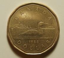 Canada 1 Dollar 1988 Varnished - Canada