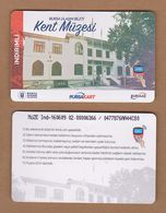 AC - SUBWAY MULTIPLE RIDE METROCARD, BUS & MUSEUM CARD FOR STUDENT #47 BURSA, TURKEY - Titres De Transport