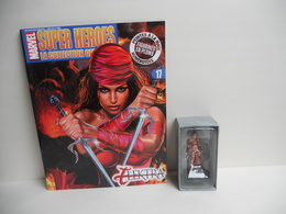 Figurine Marvel N 17 Elektra Avec Son Fascicule - Marvel Heroes